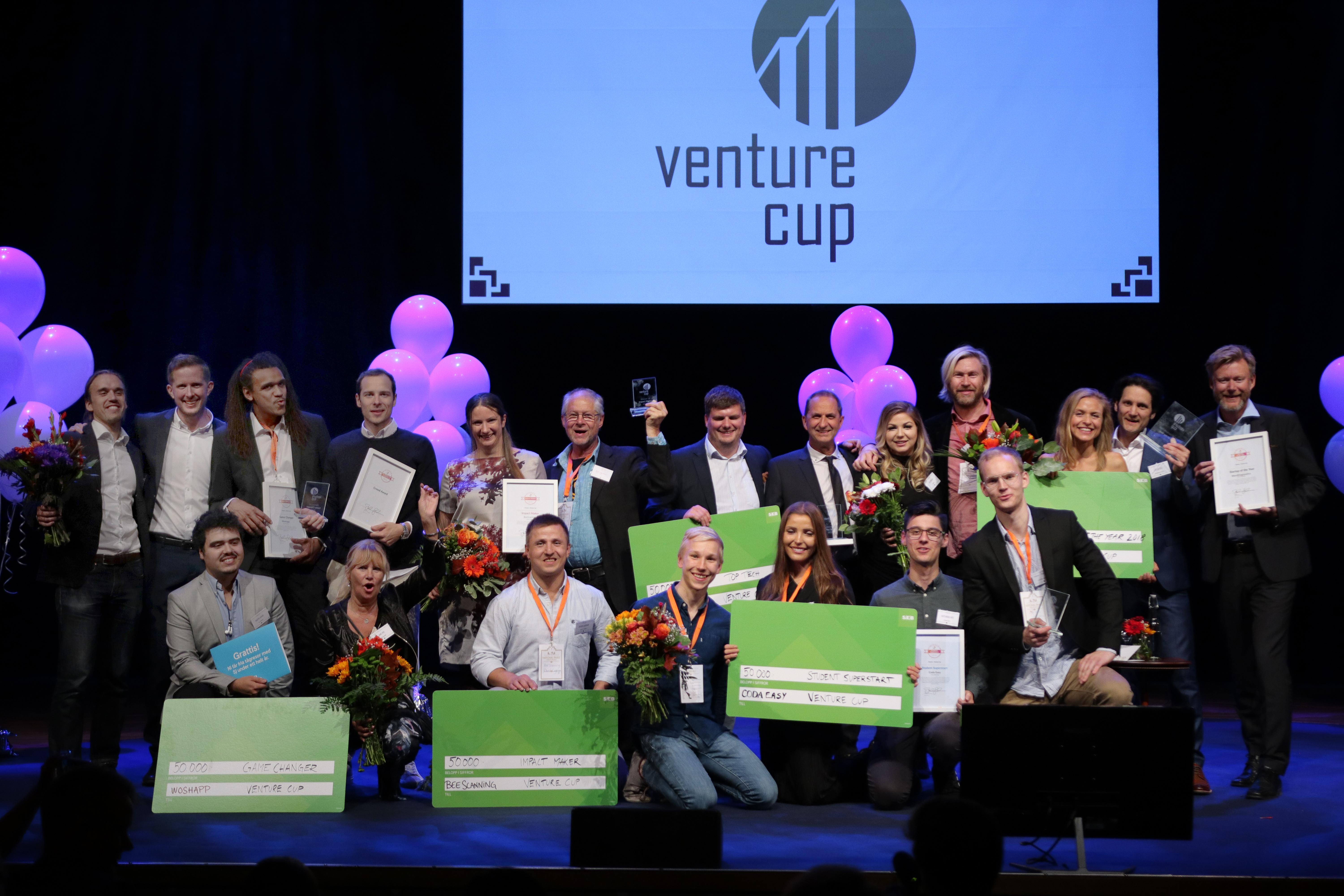 Congratulations! Winners of Venture Cup STARTUP 2018